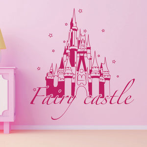 Fairy Castle-Wall Decals-Style and Apply