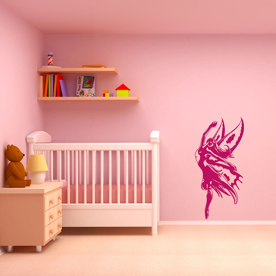 Fairy Magic-Wall Decals-Style and Apply