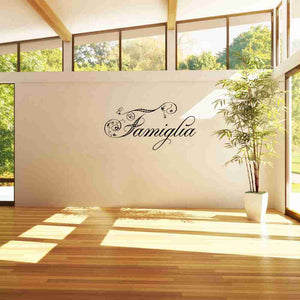 Famiglia Wall Decal-Wall Decals-Style and Apply