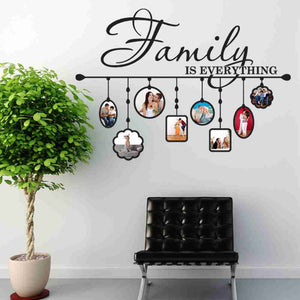 Family Picture Frame Wall Decal-Wall Decals-Style and Apply