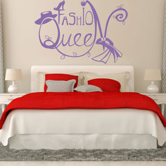 Fashion Queen 2-Wall Decal