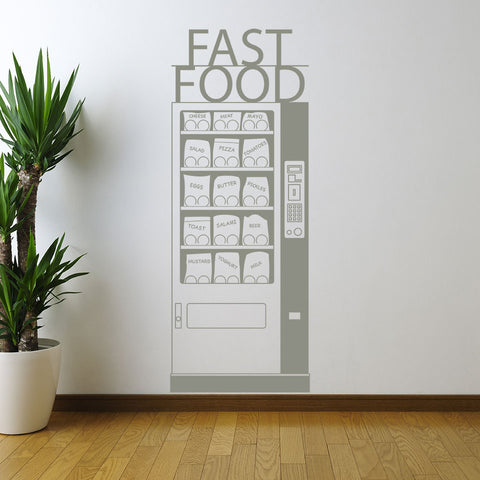Fast Food-Wall Decal