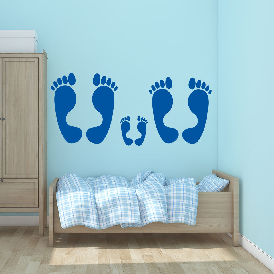 Feet-Wall Decal