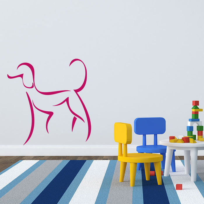 Female Dog Wall Decal