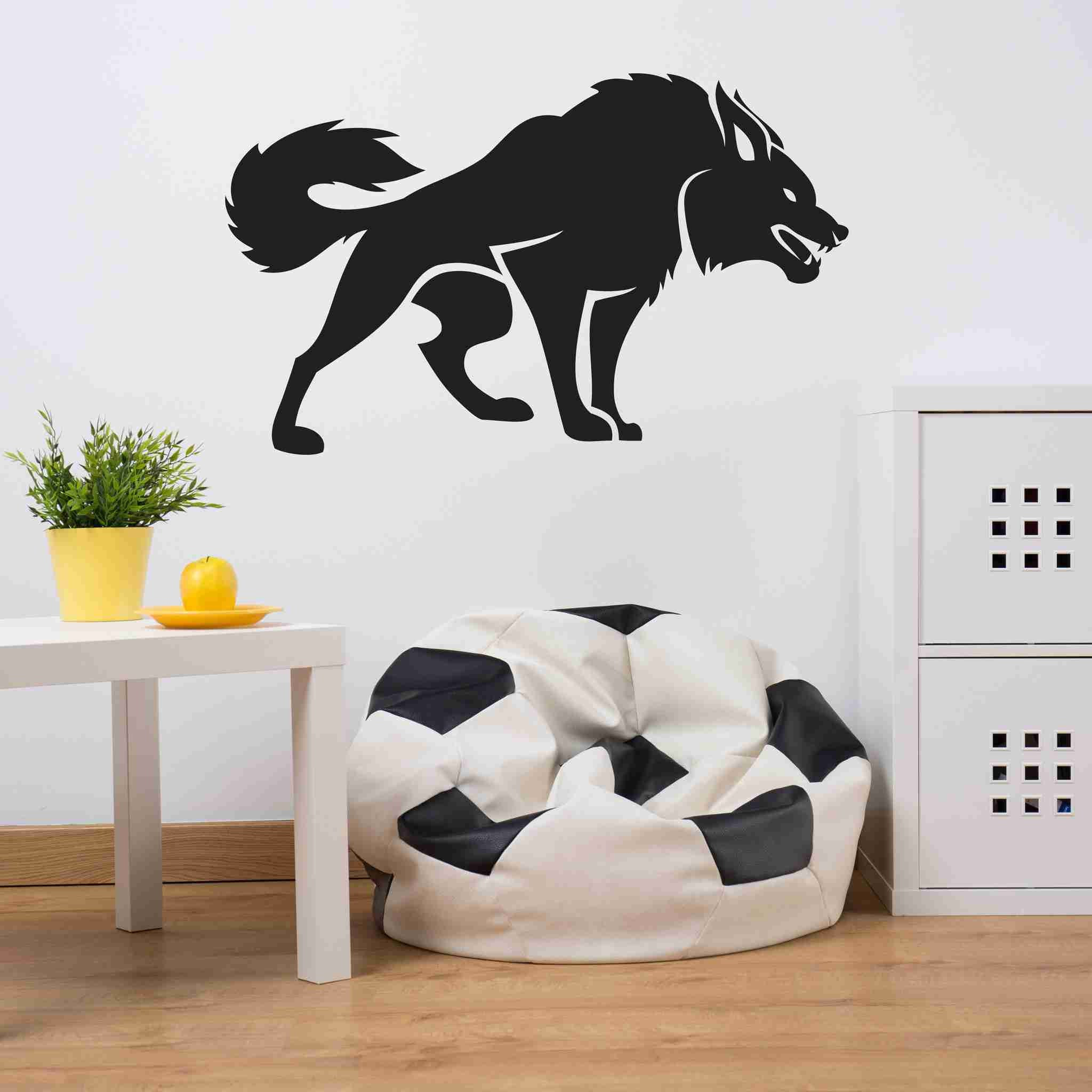 Nice Fierce Dog Wall Decals Wall Decals Style And Apply
