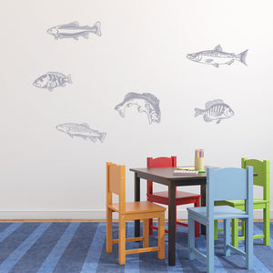Fishes-Wall Decal