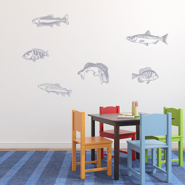 Fishes Wall Decal