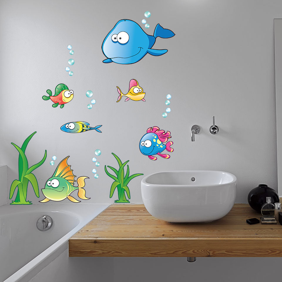 Undersea Wall Decal Set