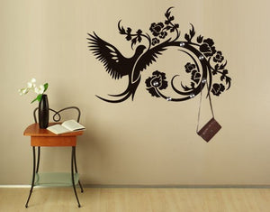 Flapping of Wings-Wall Decal Hangers-Style and Apply