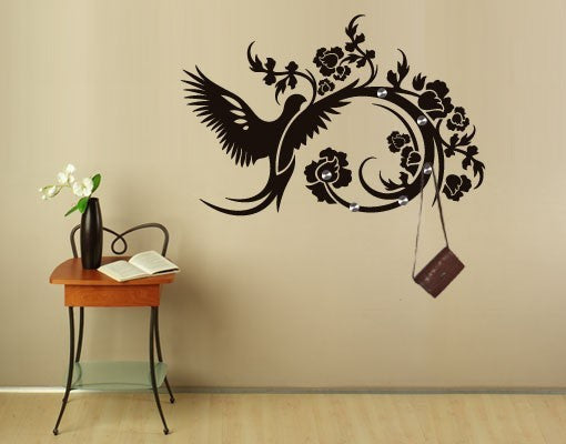 Flapping of Wings Wall Decal Hanger
