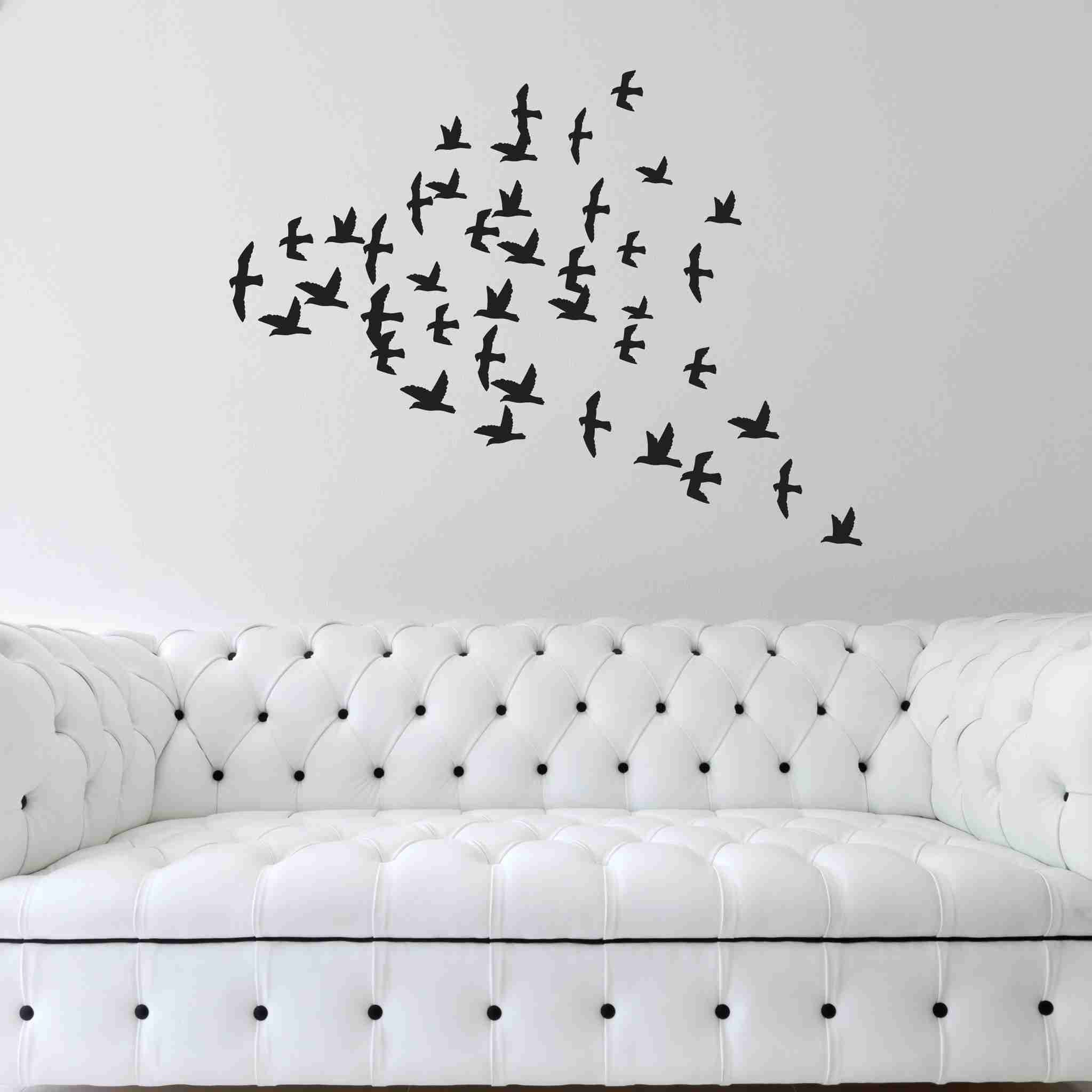 Flock of Birds Wall Decals-Wall Decals-Style and Apply
