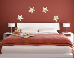 Floral Stars-Wall Decals-Style and Apply
