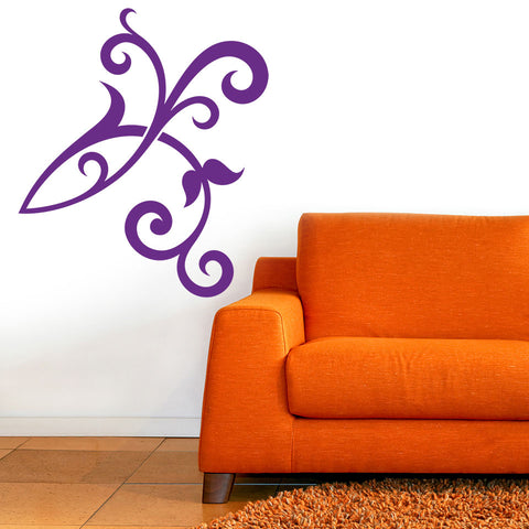 Floral Decor-Wall Decal