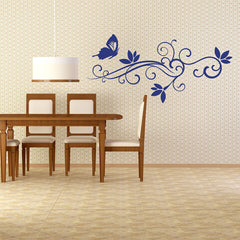 Flourish Ornament-Wall Decals-Style and Apply