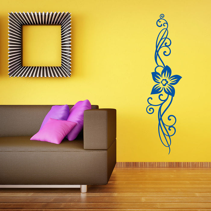 Floral Ornament II Wall Decal