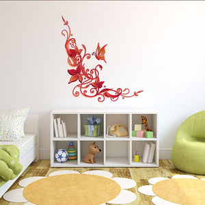 Floral Ornaments-Wall Decal Sticker