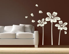 Flower Amigos-Wall Decals-Style and Apply
