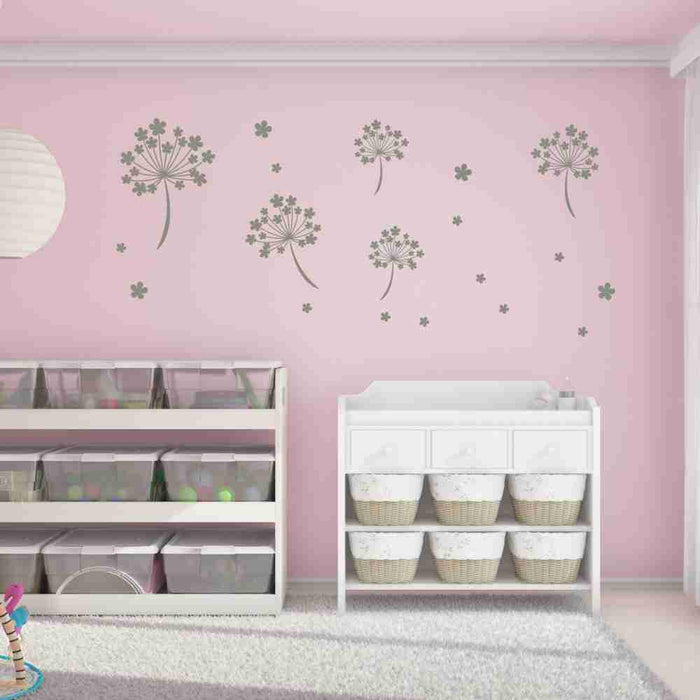 Flower Seeds Wall Decal