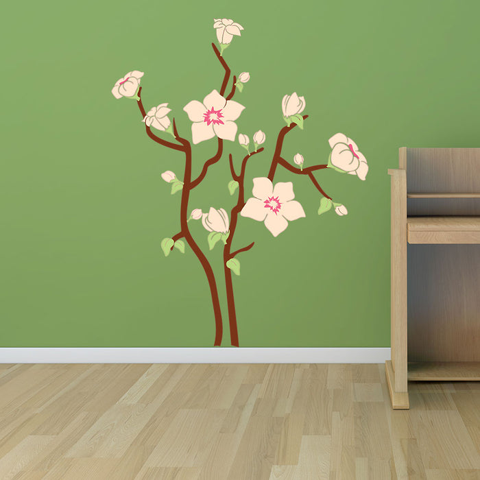 Flower Dream Wall Decal
