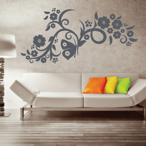 Flower Flow-Wall Decal