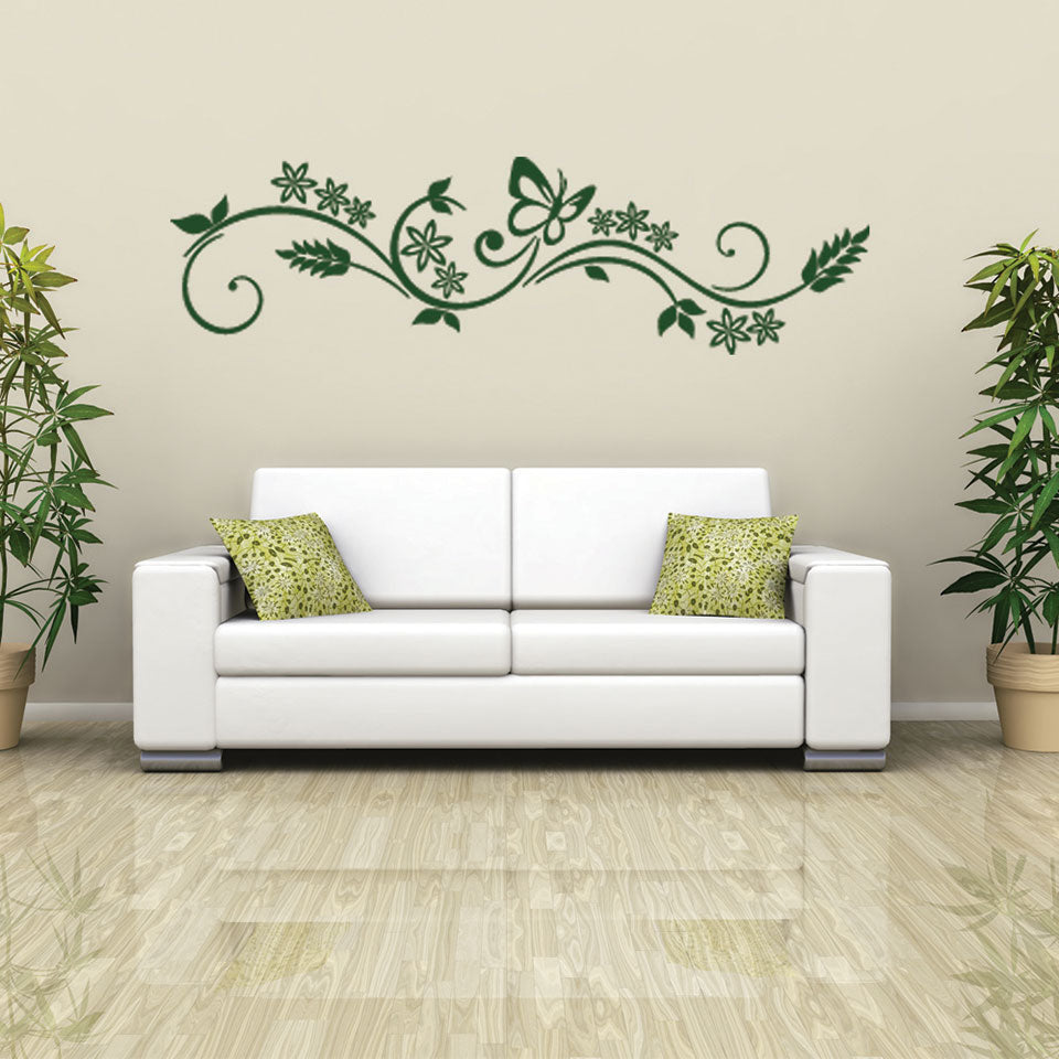 Flower Flush-Wall Decal