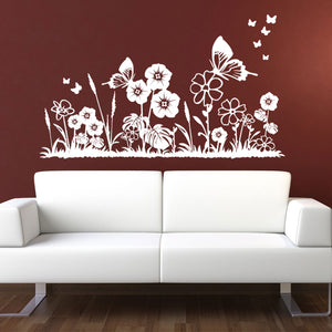 Flower Meadow Wall Decal