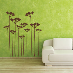 Flower Stalks-Wall Decal