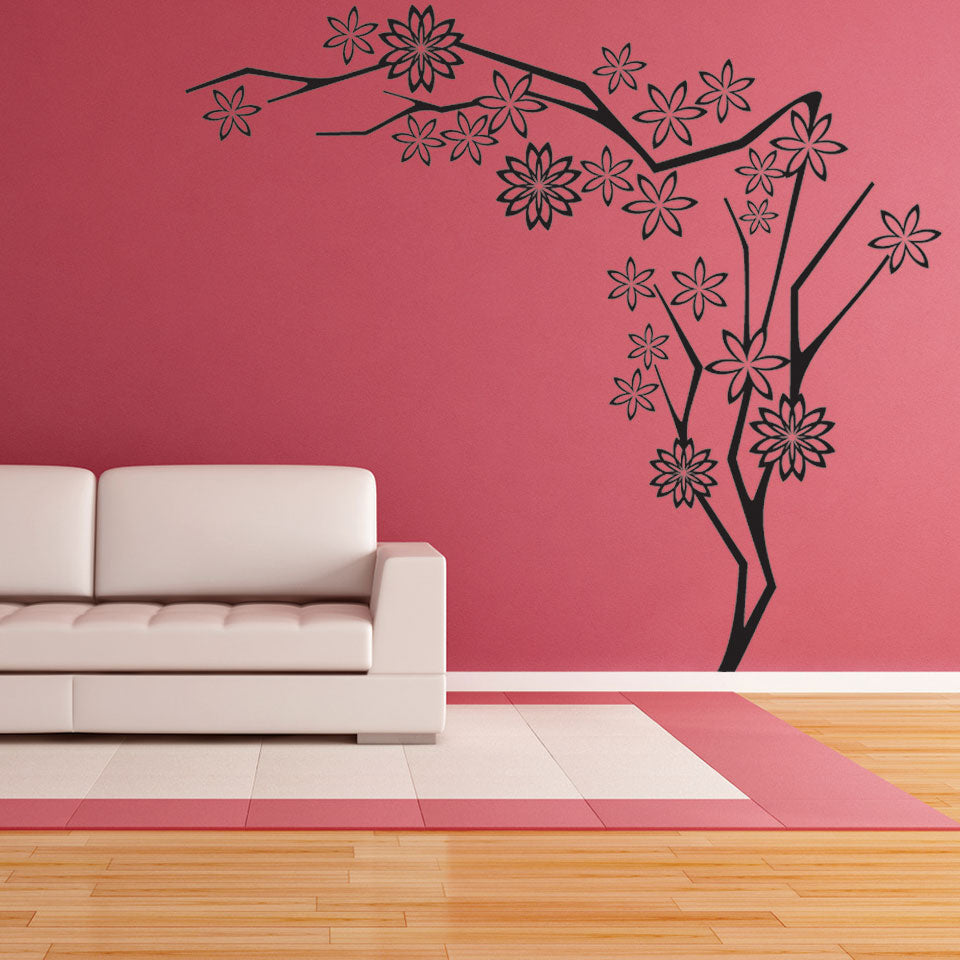 Flower Tree Wall Decal & Flower Tree III Wall Decal u2013 Style and Apply