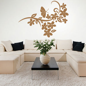 Flower Verve-Wall Decal