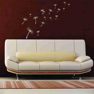 Flying Dandelions Wall Decal-Wall Decals-Style and Apply