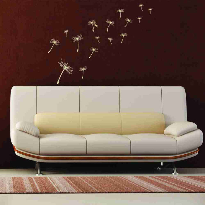 Flying Dandelions Wall Decal