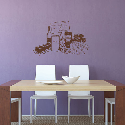 Food & Drinks-Wall Decal