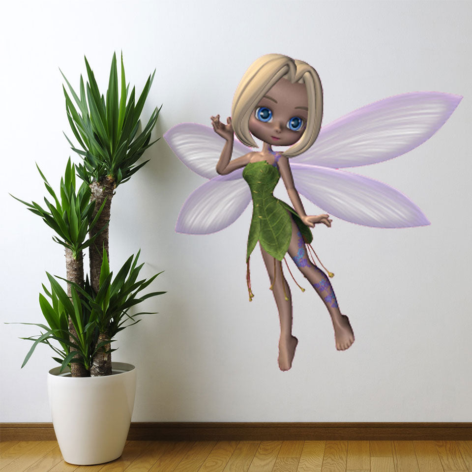 Forest Fairy-Wall Decal Stickers-Style and Apply