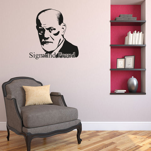 Sigmund Freud-Wall Decal