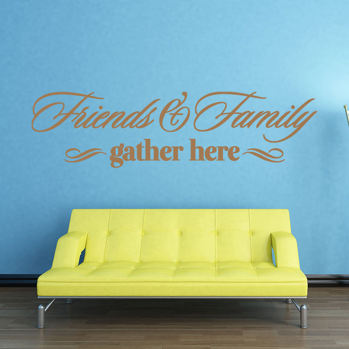 Friends & Family Wall Decal