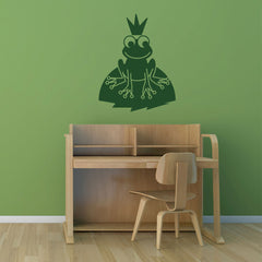 Frog Prince-Wall Decals-Style and Apply