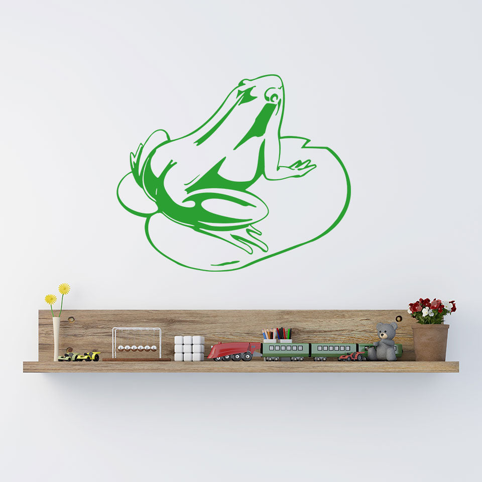 Frog-Wall Decal