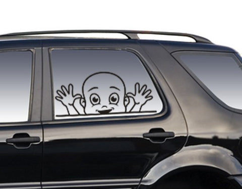 Funny Boy-Car Decals-Style and Apply