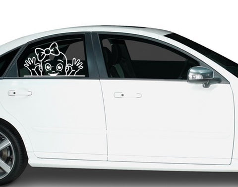 Funny Girl-Car Decals-Style and Apply