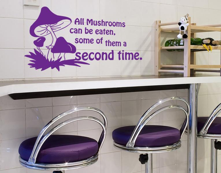 Funny Mushrooms-Wall Decals-Style and Apply