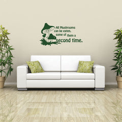 Funny Mushrooms-Wall Decals