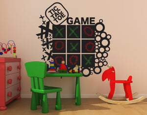 Game-Blackboard and Whiteboard Wall Decals-Style and Apply