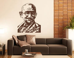 Gandhi-Wall Decals-Style and Apply