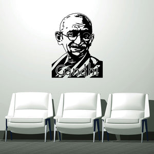 Gandhi-Wall Decal
