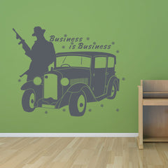 Gangster-Wall Decal