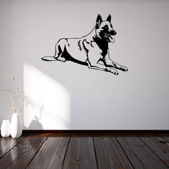 German Shepherd-Wall Decal