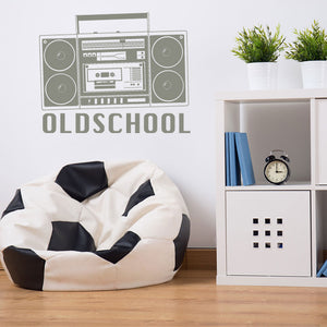 Ghettoblaster Wall Decal