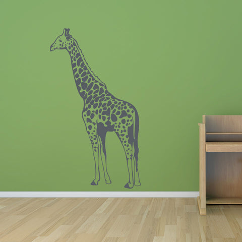 giraffe ii wall decal – style and apply