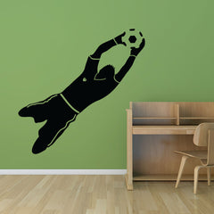 Goal Keeper-Wall Decal
