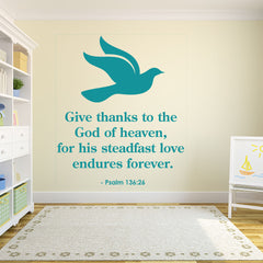 God of Heaven-Wall Decal